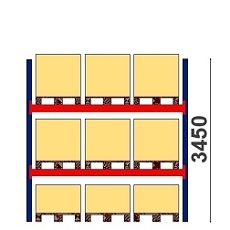 Starter & extension bays 3450 h