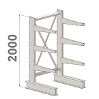 Cantilever kits 1-Sided 2000 H