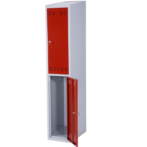 Clothing cabinet red/grey 2 doors 1920x350x550  sc 1 st  LaoEkspert & Clothing cabinet red/grey 2 doors 1920x350x550 « Knocked Down ...