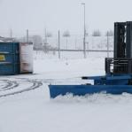 Lumesahk kahveltõstukile 2500mm