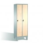Riidekapp 3x400 pingiga, 2090x1200x815, lamineeritud uksed
