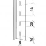 Laoriiul põhiosa 2300x1000x500 150kg/riiuliplaat,6 plaati