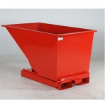 Tipping container 600L red