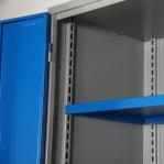 Workshop cabinet 2000x1020x540 RAL 7035/5010