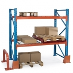 Kaubaaluse riiul lisaosa 3975x2700 580kg/alus,9 alust