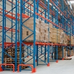 Kaubaaluse riiul põhiosa 2550x2300 1200kg/alus,6 alust