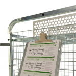 Writing tablet trolley