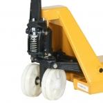 Kahvelkäru 1150x540/2500kg nailonrattad, tandem rattad,kollane