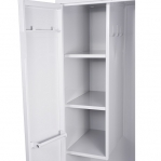 Cleaning cupboard 1900x800x545 RAL 7035