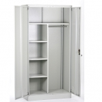 Steel Wardrobe 1820x900x500 RAL 7035
