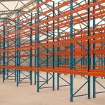 Kaubaaluste riiuli põhiosa 3000x2700, 1000kg/alus, 9 EUR alust OPTIMA