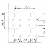 Perfosein seinale, hall, 750x600mm