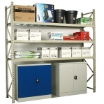 Maxi extension bay 2100x1400x800 600kg/level,3 levels with steel decks