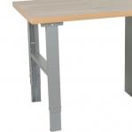 Töölaud 2000x800 6-osalise sahtlikapiga, tamm