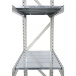 Metallriiul põhiosa 2200x1500x500 600kg/tasapind,3 puitlaast tasapinda