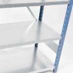 Laoriiul põhiosa 2500x1000x800 200kg/riiuliplaat,6 plaati, sinine/Zn