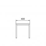 Istepink puidust kattega 400x290x420