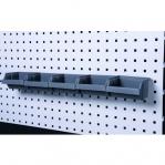 Karpide komplekt karbirelsiga 555 mm, 5 karpi