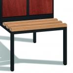 Riidekapp 2x300 pingiga, 2090x610x815, lamineeritud uksed
