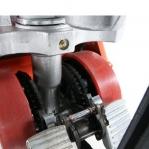 Kahvelkäru 1150x540/2000 kg PU rattad