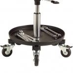 Taburet Sigma 400S ratastega, kõrgus 370-500 mm