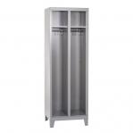 Metallist riidekapp 2-uksega 1820x600x500, kokkupandav
