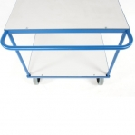 Shelf trolley 2 shelves 1150x700x875mm, 500kg