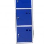 Sektsioonkapp, 5-ust, sinine/hall, 1920x350x550