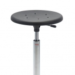 Taburet Sigma 480RS ratastega, kõrgus 540-800 mm