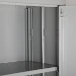 Töökojakapp Easy 1800x900x400, hall RAL7035, kiirelt kokkupandav