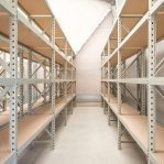 Metallriiul lisaosa 2500x1800x500 480kg/tasapind,3 puitlaast tasapinda