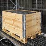 Turvaraam võrega 1050x1090mm/1000kg. 6 ribi G