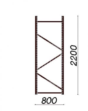 Külgraam 2200x800