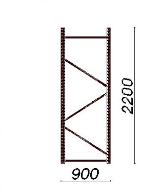 Külgraam 2200x900