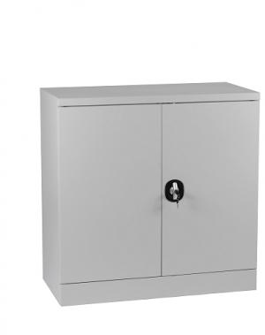 Arhiivikapp 2 riiuliga 900x900x450 RAL 7035 kokkupandav