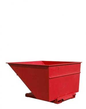 Kallurkonteiner 2500L punane