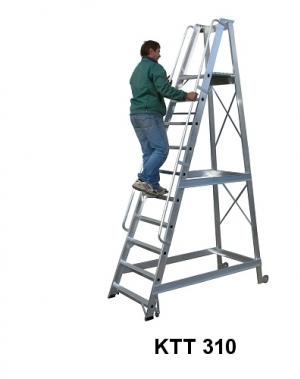 Treppredel 12-astmeline, platvormi kõrgus 3050 mm
