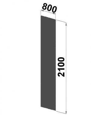 Küljeplekk 2100x800