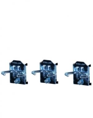 Perfo tööriistahoidja 43x20 mm, 3 tk