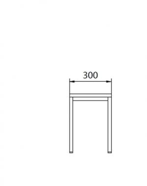 Istepink metallist kattega 300x290x420