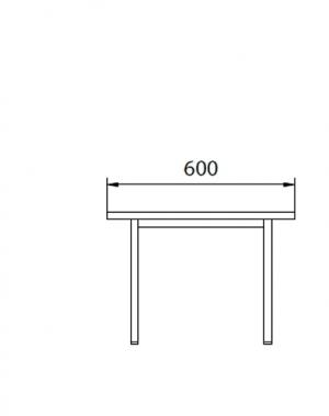 Istepink metallist kattega 600x290x420