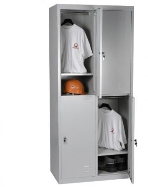 Sektsioonkapp 4-uksega 1820x800x500 RAL7035 kokkupandav