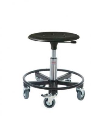 Taburet Kappa 400RS ratastega, kõrgus 370-500 mm