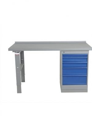 Töölaud 1600x800 5-osalise sahtlikapiga, tamm