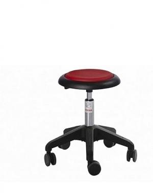 Taburet Micro- Octopus ratastega, kõrgus 450-580 mm