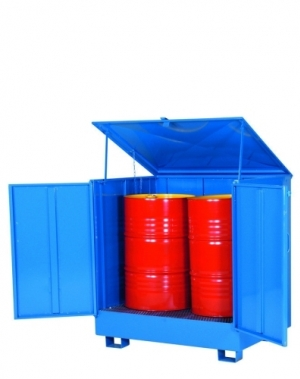2 drums standing enclosed 950x1280x1330
