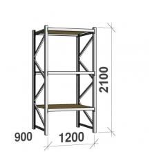 Laoriiul põhiosa 2100x1200x900 600kg/tasapind,3 PLP tasapinda