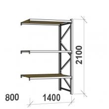 Laoriiul jätkuosa 2100x1400x800 600kg/tasapind,3 PLP tasapinda