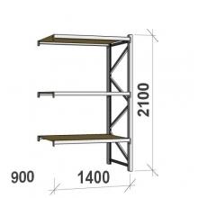 Laoriiul jätkuosa 2100x1400x900 600kg/tasapind,3 PLP tasapinda