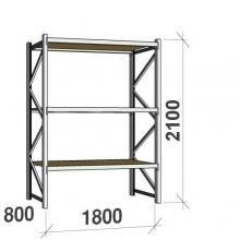 Laoriiul põhiosa 2100x1800x800 480kg/tasapind,3 PLP tasapinda
